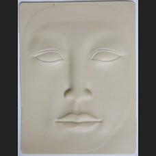 Silikónová koža tvár 3D